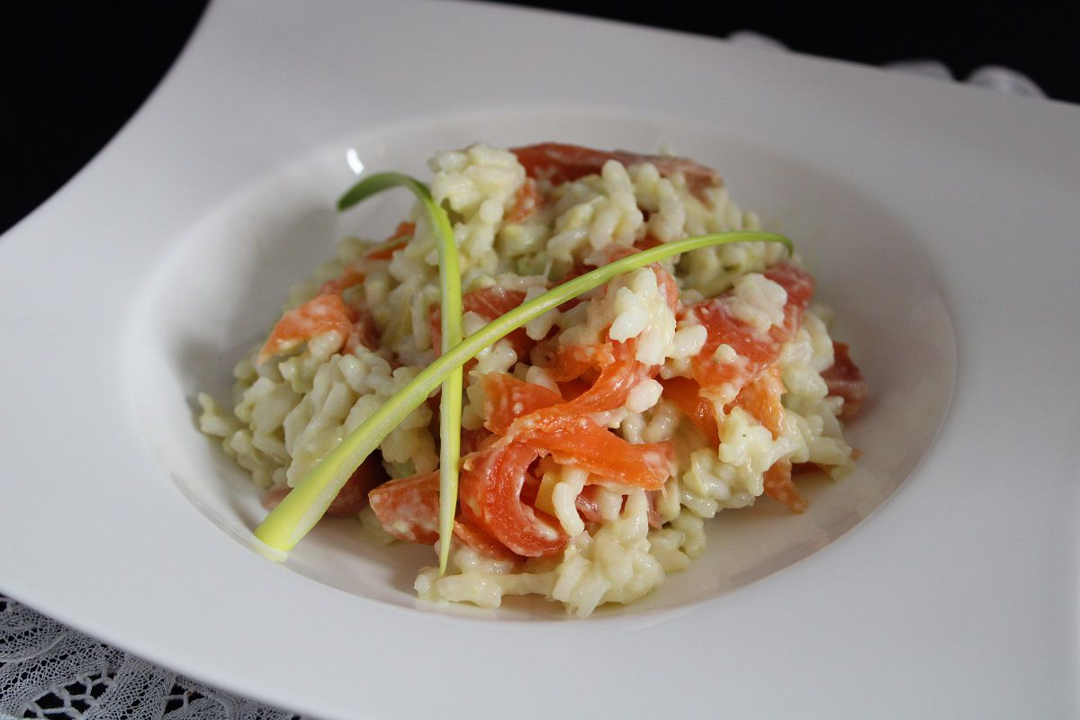 Risotto scandinave