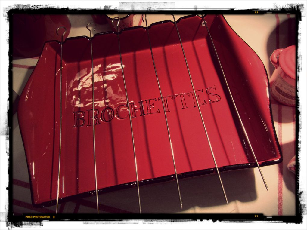 "La collection ""Rouge""... ""Jardin d'Ulysse""..."