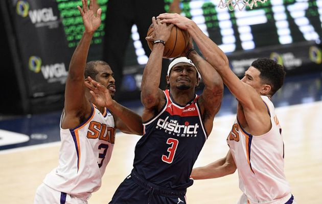 Bradley Beal mène Washington face aux Suns avec 34 points, 8 rebonds, 9 passes et 2 interceptions