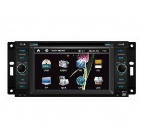 refurbished tvs | Buyonline Piennoer Original Fit (2009-2010) Dodge Journey 6-8 Inch Touchscreen Double-DIN Car DVD Player  &  In Dash Navigation System,Navigator,Built-In Bluetooth,Radio with RDS,Analog TV, AUX & USB, iPhone/iPod Controls,steering wheel control, rear view camera input