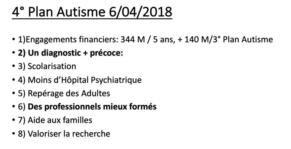 DPC - Les TROUBLES du SPECTRE AUTISTIQUE