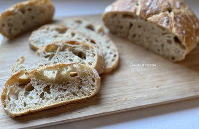 Mon premier pain maison!!!