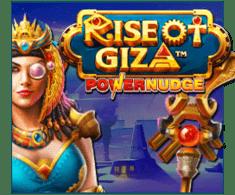 machine a sous Rise of Giza PowerNudge logiciel Pragmatic Play