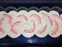 spécial fêtes de fin d'année N°2 :  bûche salée crabe, saumon fumé, gambas