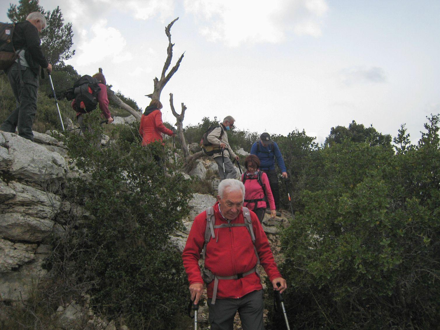 Rando du 8 mars 2021 : Mont du Marseillais