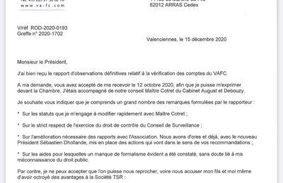 VAFC et les subventions publiques.