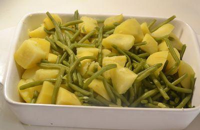 Cuisson des haricots et des pommes de terre au Cookeo