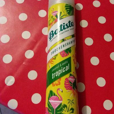 Baptiste, mon shampooing sec adoré
