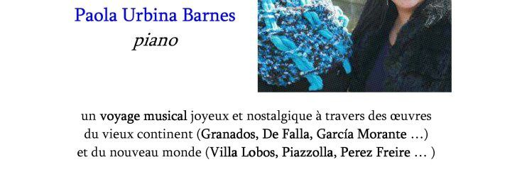 Récital hispano-américain, dimanche 29 janvier, Forum Léo Ferré (Ivry-sur-Seine)