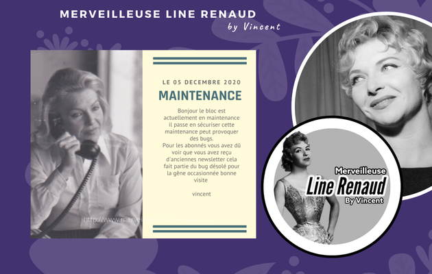 INFO BLOG : Blog en Maintenance