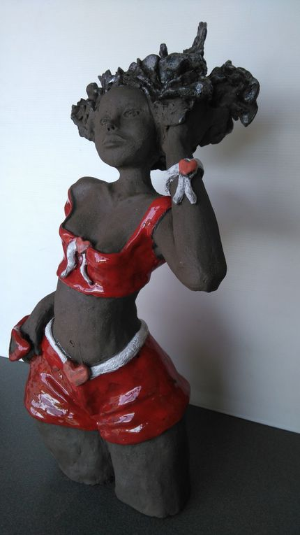 Sculpture d'Hélène de mardi après-midi