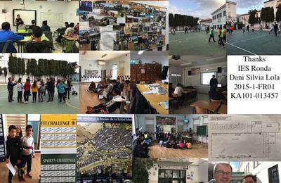 Nouvelle perspective européenne en Andalousie après un stage de formation EPS