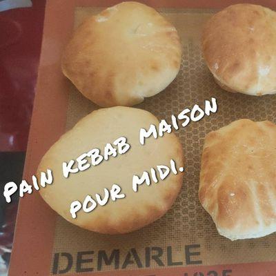 Pain Kebab maison - Demarle