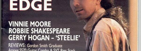 Magazine Guitarist-The Edge-October 1987