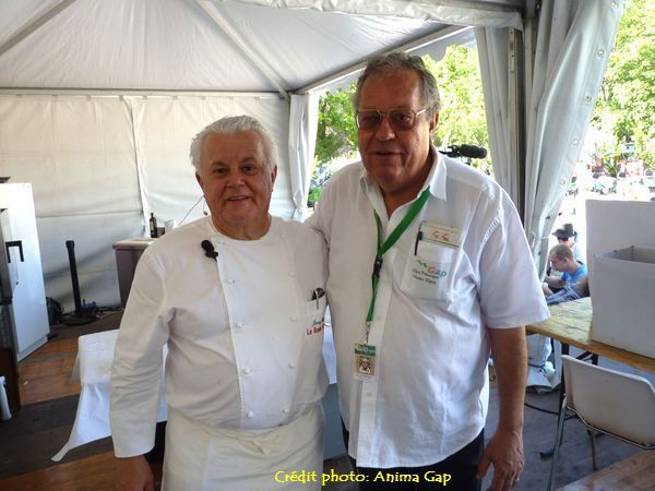 Un chef étoilé à Gap Foire Expo 2015