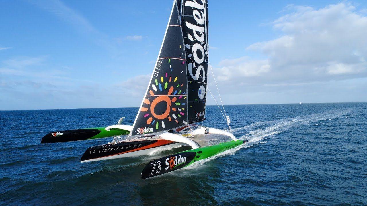 Trophée Jules-Verne – Sodebo Ultim 3 passe le Cap de Bonne-Espérance en avance sur Idec Sport