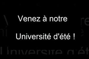 Communication - Alternative Libérale: Infos Université d'Eté des Mouvements Libéraux