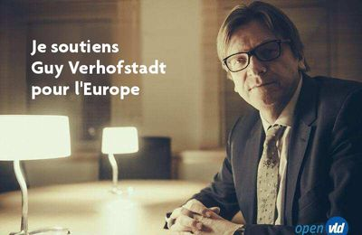 Last Night in Orient soutient Guy Verhofstadt pour l'Europe