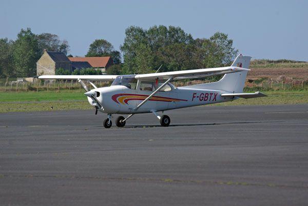Le Cessna 172 F-GBTX.