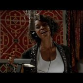 EXCLUSIVE: Yaya DaCosta Channels Whitney Houston In the Studio