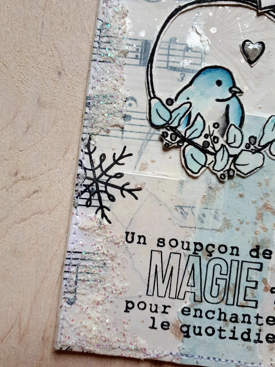 Cartes tags * Equipe créative L'Encre et l'Image *