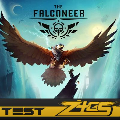 TEST : THE FALCONEER , welcome to falcon airlines .