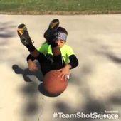 6-year old Jaliyah Manuel at Basketball