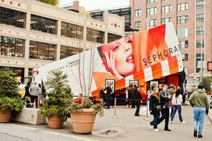 SEPHORA New York : popup store pour le lancement de leur partenariat avec Pantone