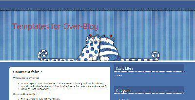 Nouveau : des thèmes pour OverBlog