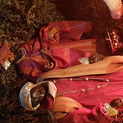 Les santons s'endorment à la Chandeleur...