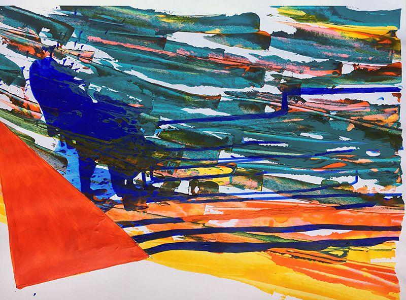 Nicole Orbach - à partir du point 20 de la peinture en neuf mois