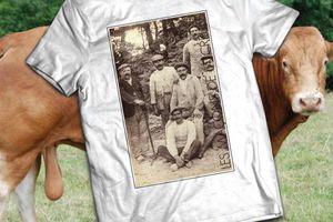 T-shirt France - Limousin - Les maçons de la Creuse