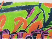 Martine Kervinio, peintures 2009/2010