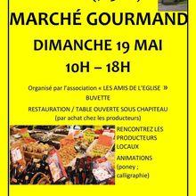 Marché gourmand dimanche 19 mai