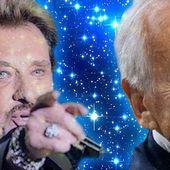 Jean D'Ormesson et Johnny Hallyday légendes des lettres et du Rock'n Roll du signe du Gémeaux en route vers les étoiles.