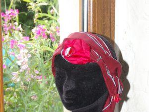 turban de soie .