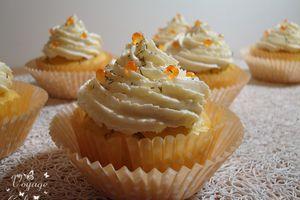 Cupcakes à la truite fumée