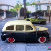 RENAULT COLORALE TAXI 1950 C.I.J 1/45 - car-collector.net