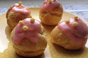 petits choux crème au rhum : ma première recette du blog au TM5 !