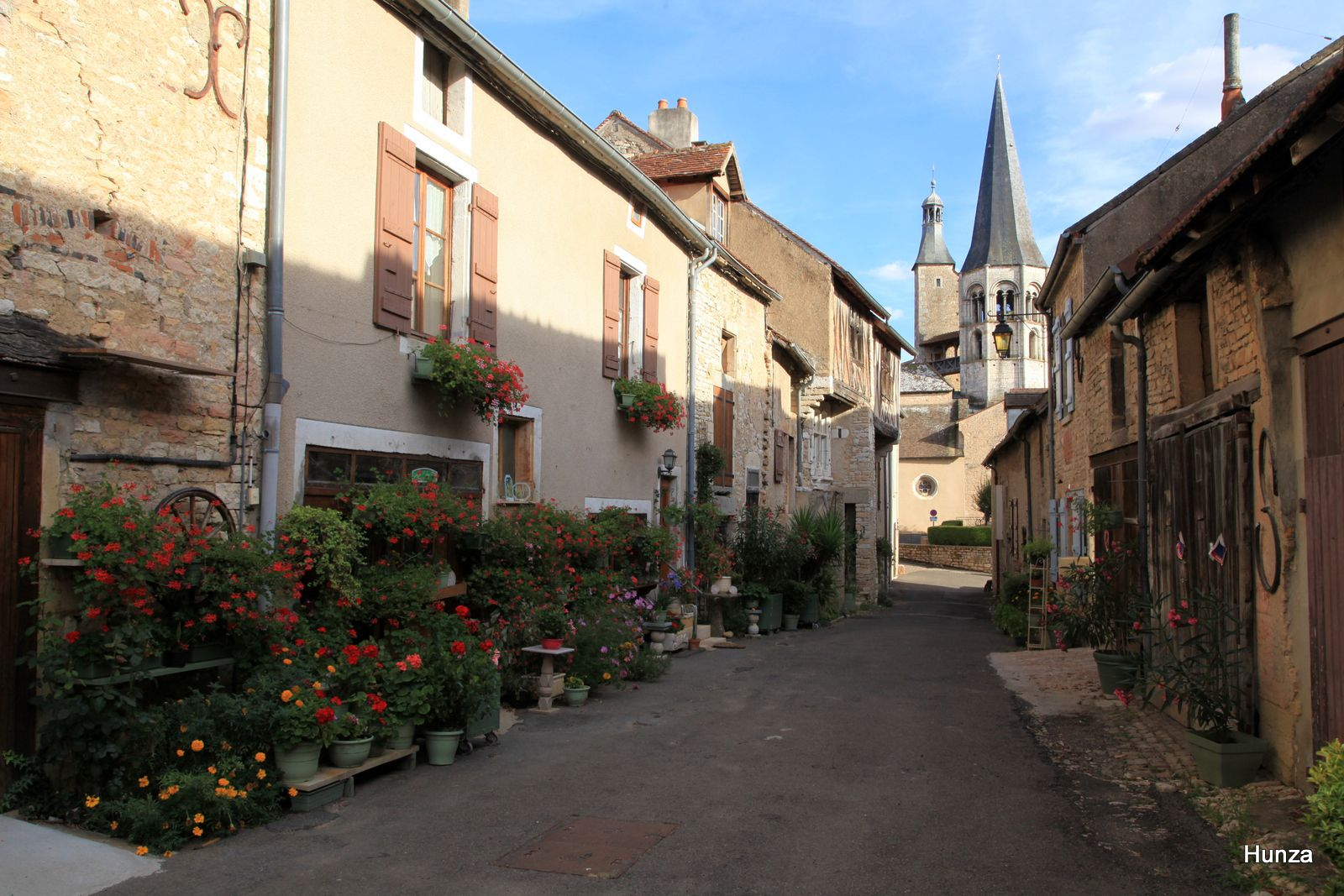Saint-Gengoux le National : rue du Moulin à Cheval