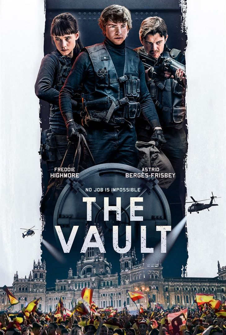 Critique Ciné : The Vault (2021)
