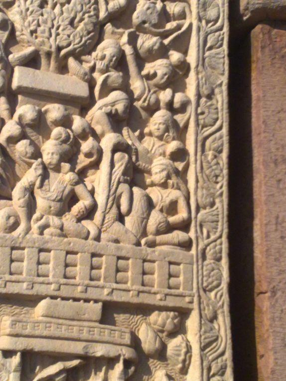 Plus ancien et grand site bouddhiste d'Inde