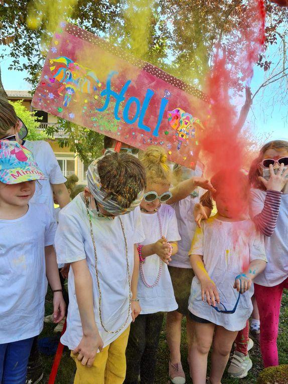 Holi - La fête des couleurs