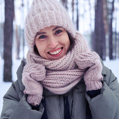 sourire hivernal