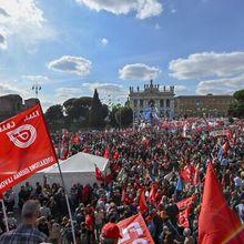 Italie : riposte massive à l'attaque du siège du syndicat CGIL