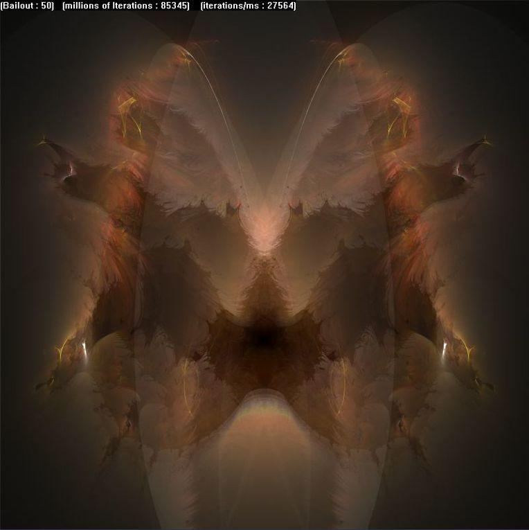 Des fractales et autres variations de buddhabrot