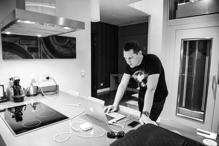 Tiësto photos South Africa 2014, behind the scenes