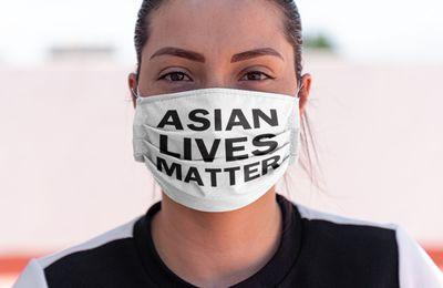 Asian lives matter mask
