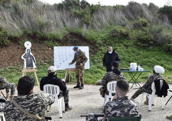 Libano:militari della Brigata Sassari addestrano forze di sicurezza e antiterrorismo libanesi