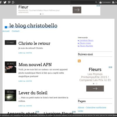le blog christobello